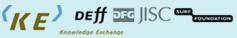 Knowledge Exchange, Deff, DFG, JISC, Surf Foundation